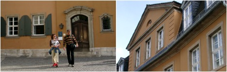 Goethes Wohnhaus / Nationalarchiv in Weimar
