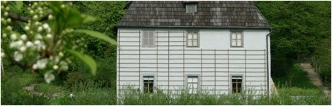 Goethes Gartenhaus in Weimar